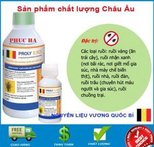 giá bán thuốc Proly 2.5cs